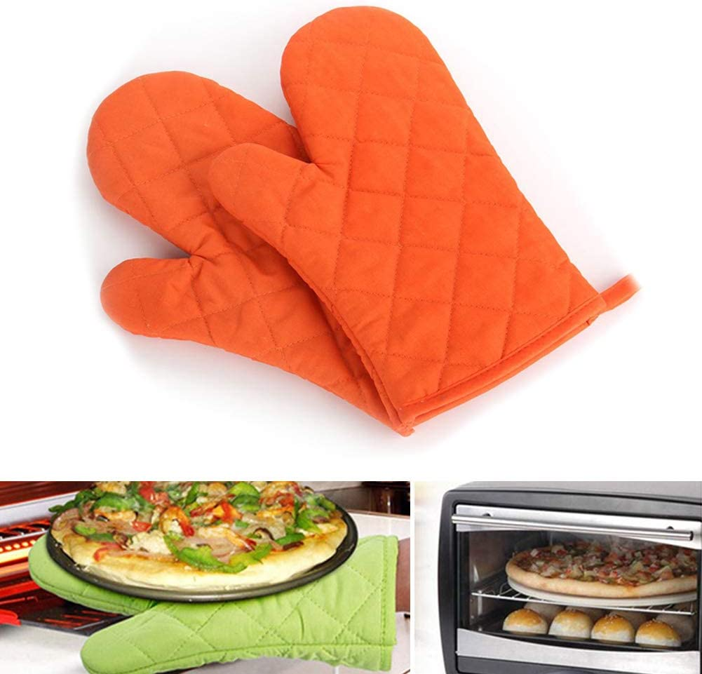 Yimeezuyu Oven Mitts Heat Resistant Microwave Gloves for Baking and Kitchen Non-Slip Kitchen Oven Gloves