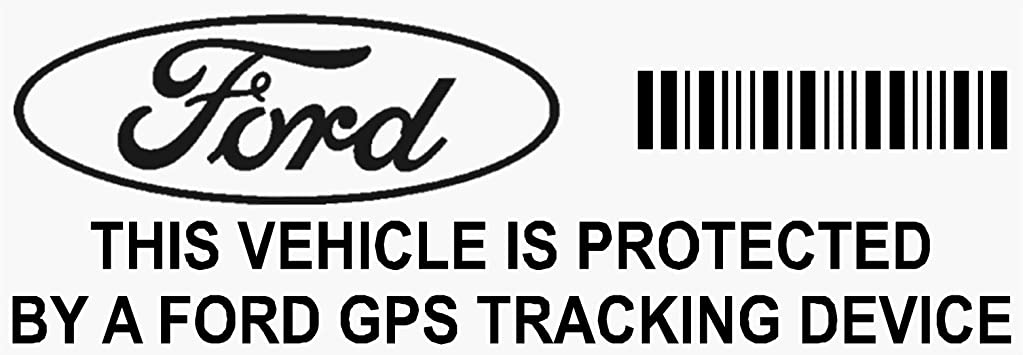 Platinum Place 5 X Ppfordgps Gps Schwarz Tracking Gerät Sicherheit Fenster Aufkleber 87x30mm Fiesta Mondeo Escort Focus Mustang Fusion Ka Auto Van Alarm Tracker Auto