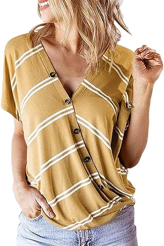 Blusas de Mujer Elegantes de Fiesta Camisa con Cuello ...