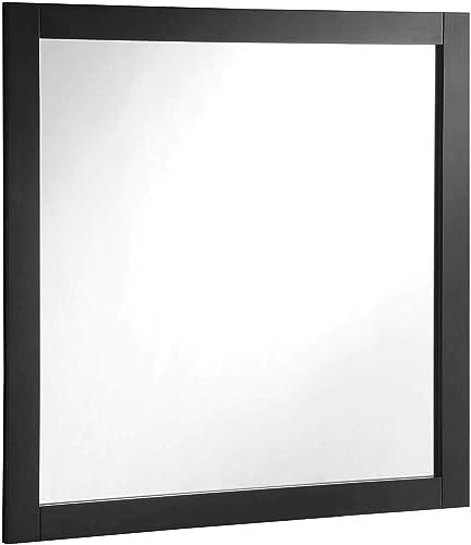 Design House Shorewood 547091 30-inch Vanity Mirror, Espresso