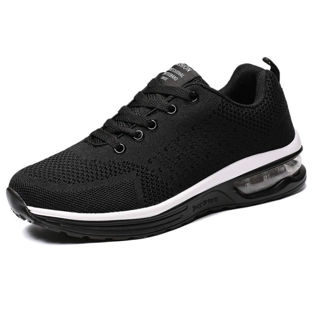 Männer Turnschuhe Atmungsaktiver Athletischer Trainingssport Laufschuhe Luftkissen Atmungsaktiv Leicht Rutschfest Schuhe