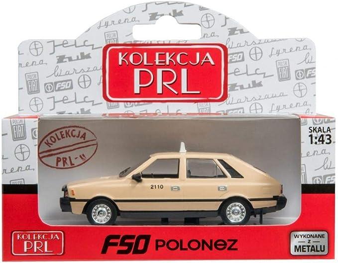 Daffi FSO Polonez Milicja Miliz 1:43 Polish Classic Car 10cm New in Box