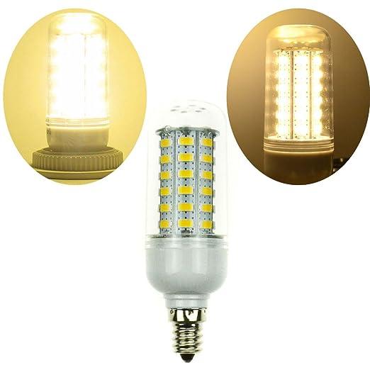 LEDMOMO Bombilla LED Maíz E12 Bombilla de maíz Tornillo Bombillas LED para iluminación de poste de