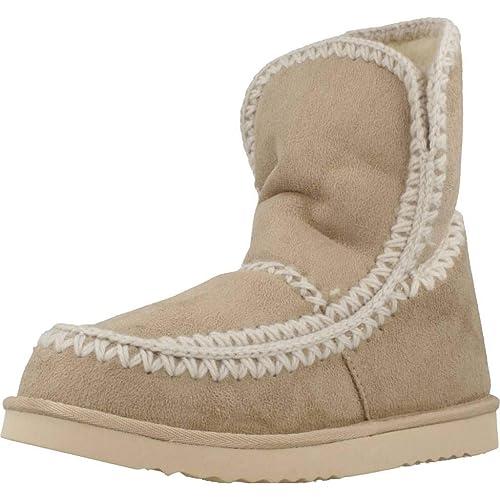 Mustang 58521 C38086 - Botines Mujer Beige Talla 41: Amazon.es: Zapatos y complementos