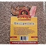 GRILLSCHMECKER Grill Pellets 100% Buche 15kg im Sack