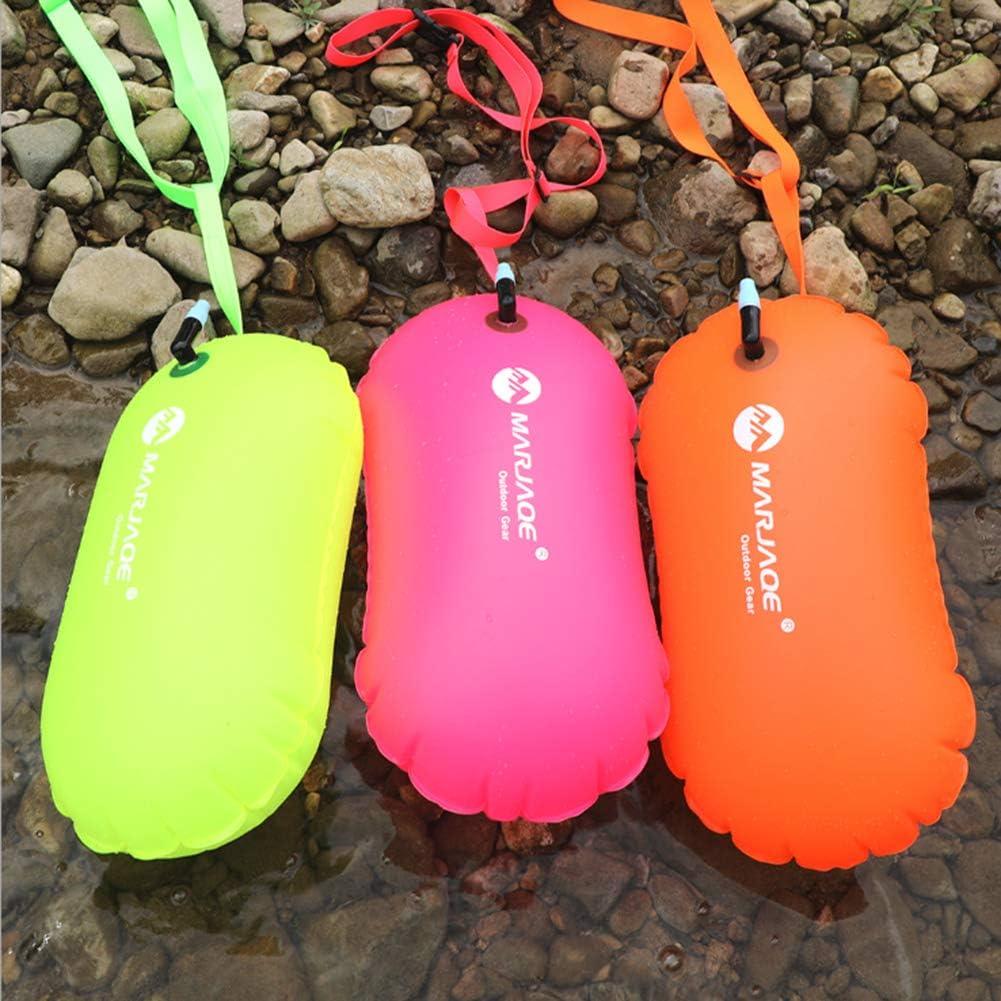 Hohe Sichtbare Aufblasbare  Floss Boje Für Schwimmen Des Offenen Wassers