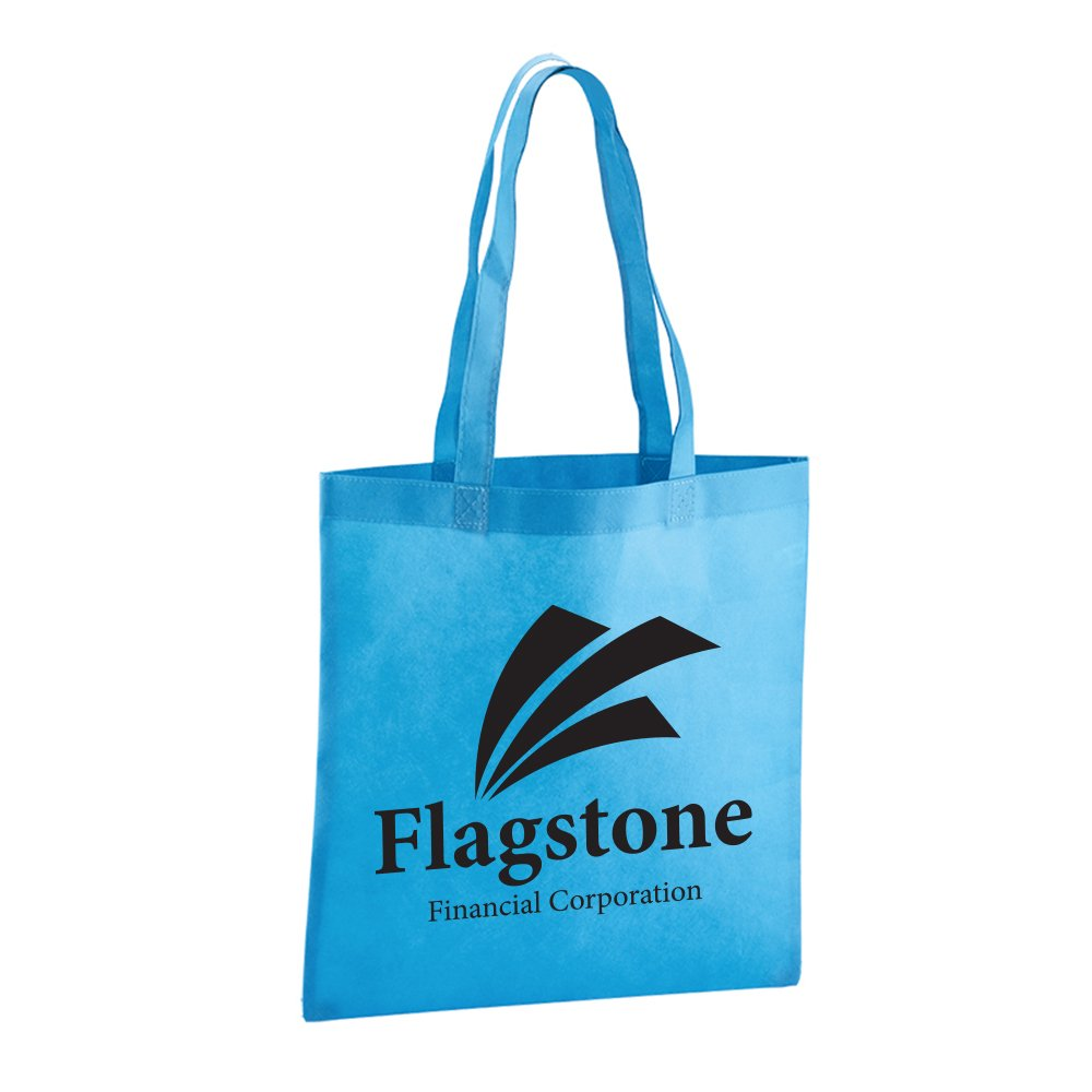 Value Tote - 50 Quantity - $1.80 Each - PROMOTIONAL PRODUCT / BULK / BRANDED with YOUR LOGO / CUSTOMIZED by Sunrise Identity (Image #2)
