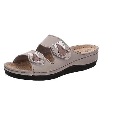 Jana Da-Pantolette Größe 41 Grau (Grey) 7mBMJQN