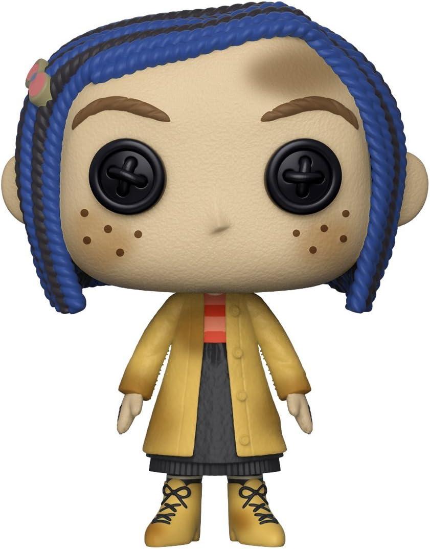 Amazon Com Funko Pop Movies Coraline Coraline As A Doll Collectible Figure Multicolor Toys Games