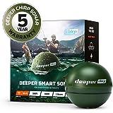 Deeper Chirp Smart Sonar Phone Castable Wireless Fishfinder Depth Finder Portable Fish Finder for Kayaks Boat Shore Ice…