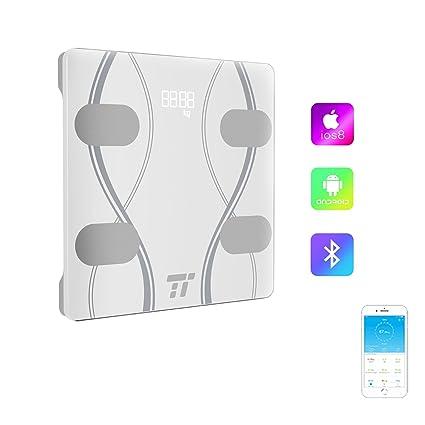Báscula Baño TaoTronics, (3 Unidades), Báscula de Baño Digital Bluetooth 4.0 con