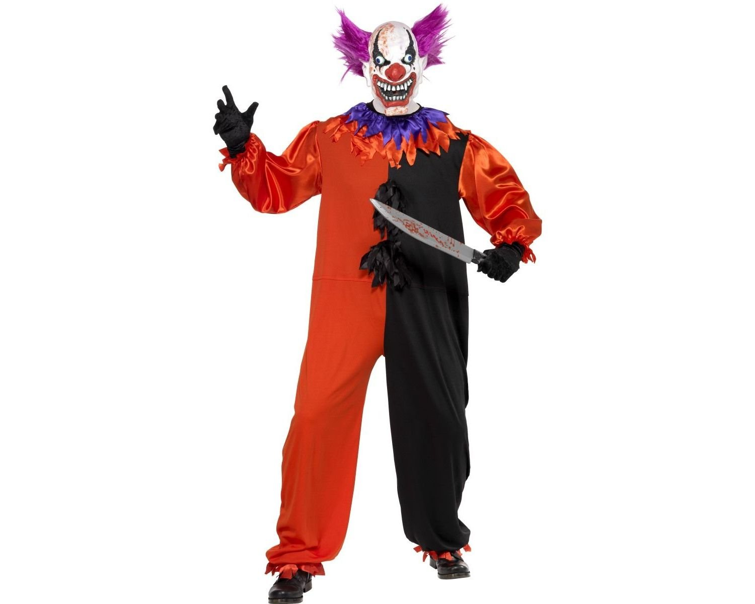 SINISTER Clown Costume Smiffys Costume
