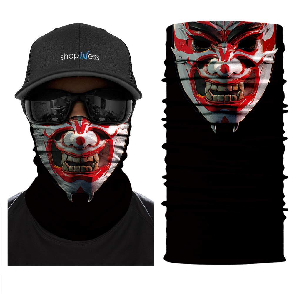 ShopINess Pañ uelo Braga Multifunció n - Samurai Demon