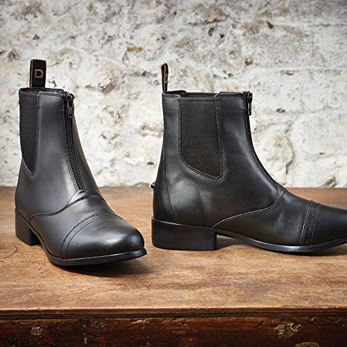 Elevation Jodhpur Black Zip Dublin Boots 9 CqpZqR