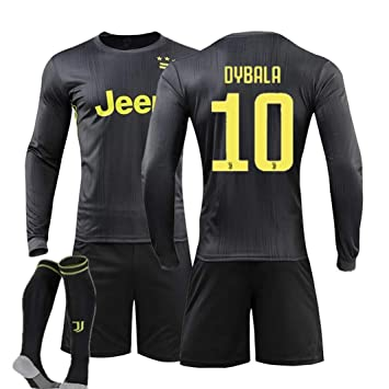 newest e5bb0 2bed6 Amazon.com : ZZXYSY Dybala #10 Juventus Kids/Youths Away ...