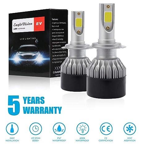 Kit de bombillas LED para faros delanteros de coche EV9 H7 H11 9005 9006 H1 de ...