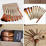 TOP 12PCS Makeup Cosmetic Brushes Set Powder Foundation Eyeshadow Lip Brush Tool By Abcstore99