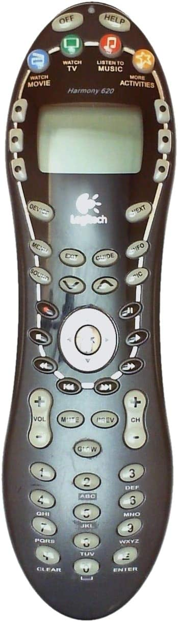 Logitech Harmony 620 Advanced Universal Remote Control - Control up to Twelve Devices!