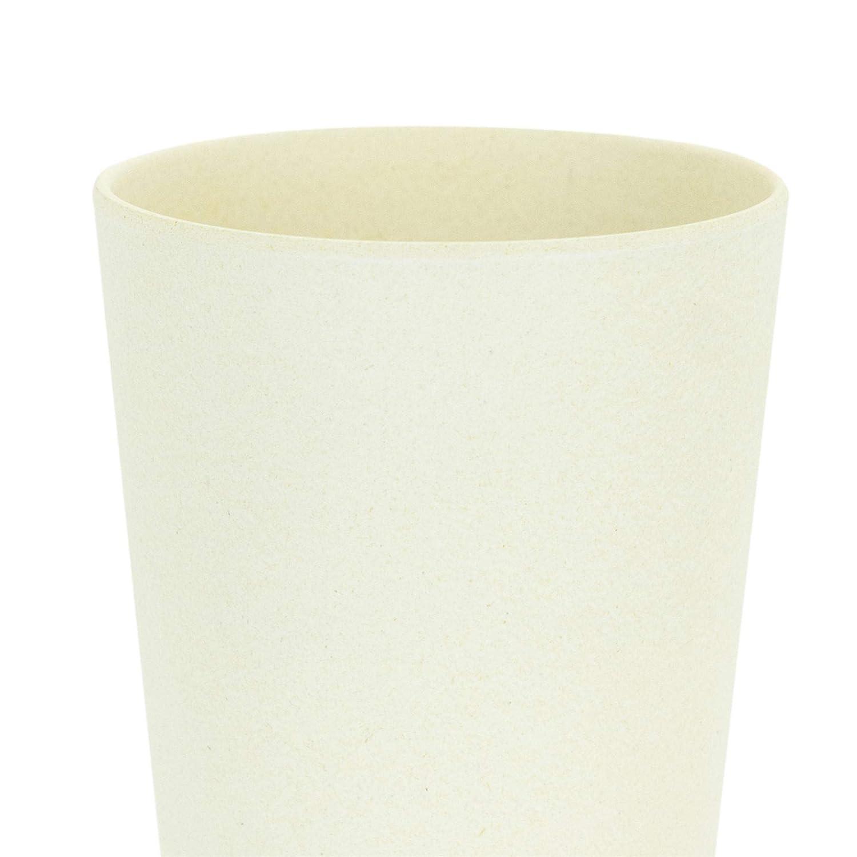 f/ête 400 ML Rink Drink Gobelets Tumbler r/éutilisables Bambou respectueux de lenvironnement Lot de 6