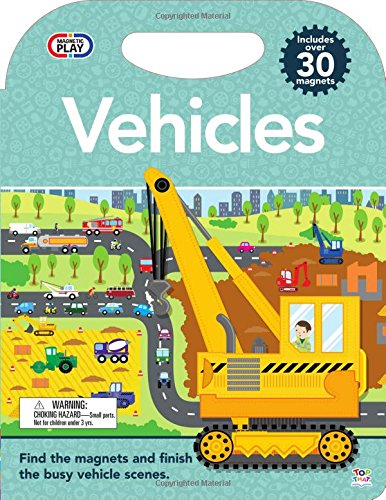 Magnetic Play Vehicles (Magnetic Activity Book)