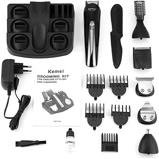 KinshopS KEMEI KM-600 Cortapelos multifuncional, afeitadora ...