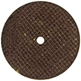 Falcon A24TBE Extra Tough Resinoid Bonded Double Reinforced Grinding and Snagging Abrasive Cut-off Wheel, Type 1, Aluminum Oxide, 3/8'' Hub, 4'' Diameter x 1/4'' Thickness, 24 Grit  (Pack of 25)