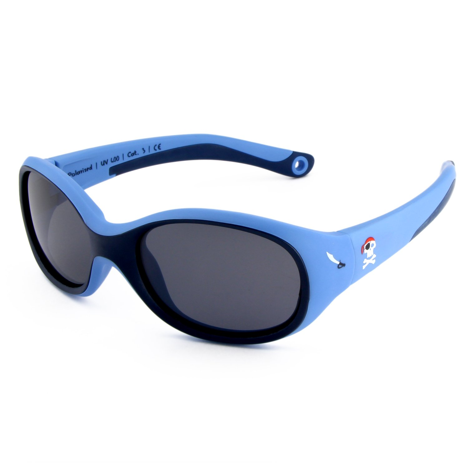 Active Sol KIDS Sunglasses | BOYS | 100% UV 400 protection | polarised | indestructible (made of flexible rubber) | 2-6 years | 22 grams 40.03.041