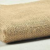 "5 Yards Natural Burlap Roll 24"" Wide Fabric Jute"