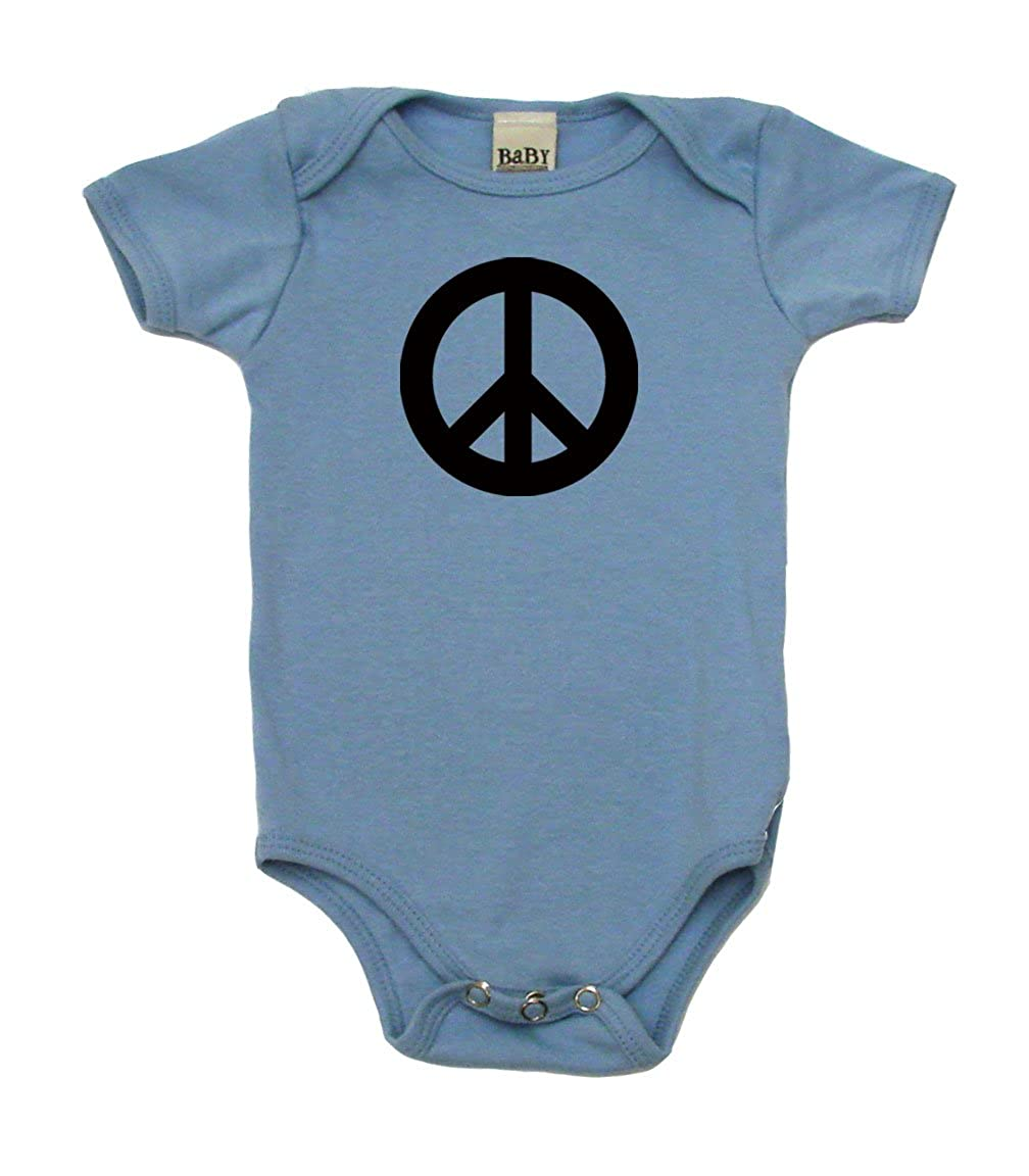 18896cd0 Amazon.com: Peace Sign Hippie Baby Clothes Onesie, Bodysuit, T- Shirt |  Cool Baby Gift: Clothing