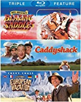 Blazing Saddles / Caddyshack / National Lampoon's European Vacation (Triple Feature) [Blu-ray] from Warner Home Video