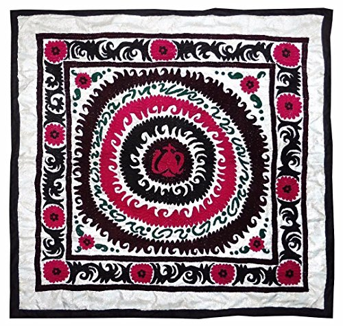 old bold abstract uzbek handmade embroidery samarkand suzani bolinpush - Method Discover Payment