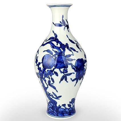 Amazon Xuzou Blue And White Porcelain Vase Chinese Antique
