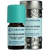 ローズゼラニウム オーガニック 5g 【フロリハナ】 【精油/エッセンシャルオイル/アロマオイル/アロマテラピー】