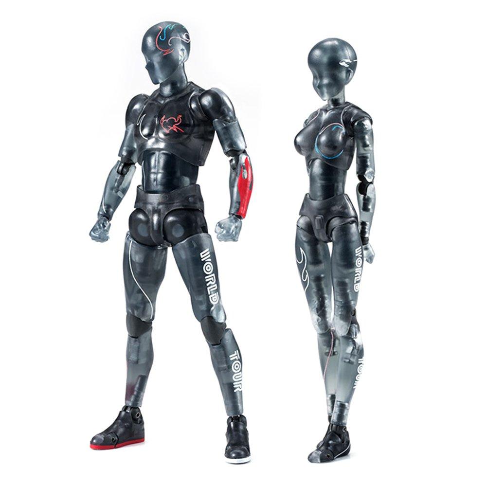 Delidraw Corpo-Kun Chan DX PVC Uomo Donna Figura di Azione Modello per SHF Bambini Regalo Giocattolo Collettore Male+Female