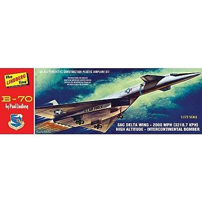 Lindberg HL413/12 1/180 B-70 Bomber: Toys & Games