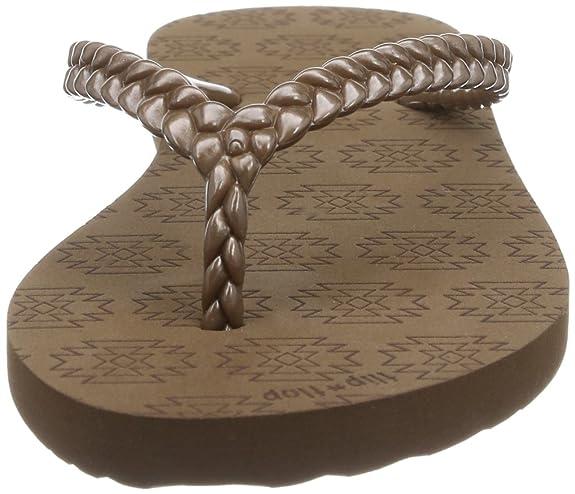 flip flop slim kilim, Damen Zehentrenner, Braun (888 mokka), 36 EU