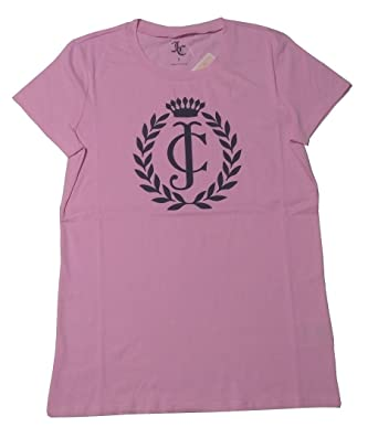 6bbd592650a7 Amazon.com  Juicy Couture Logo Juicy Short Sleeve Tee  Clothing