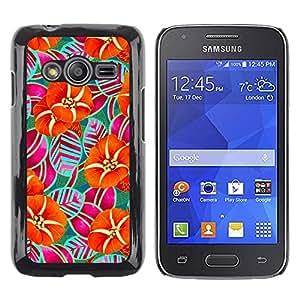 Be Good Phone Accessory // Dura Cáscara cubierta Protectora Caso Carcasa Funda de Protección para Samsung Galaxy Ace 4 G313 SM-G313F // Nature Iridescent Wallpaper Art