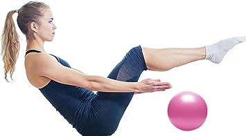 LLQ ejercicio bola para fitness, estabilidad, equilibrio y Yoga 25 cm ...