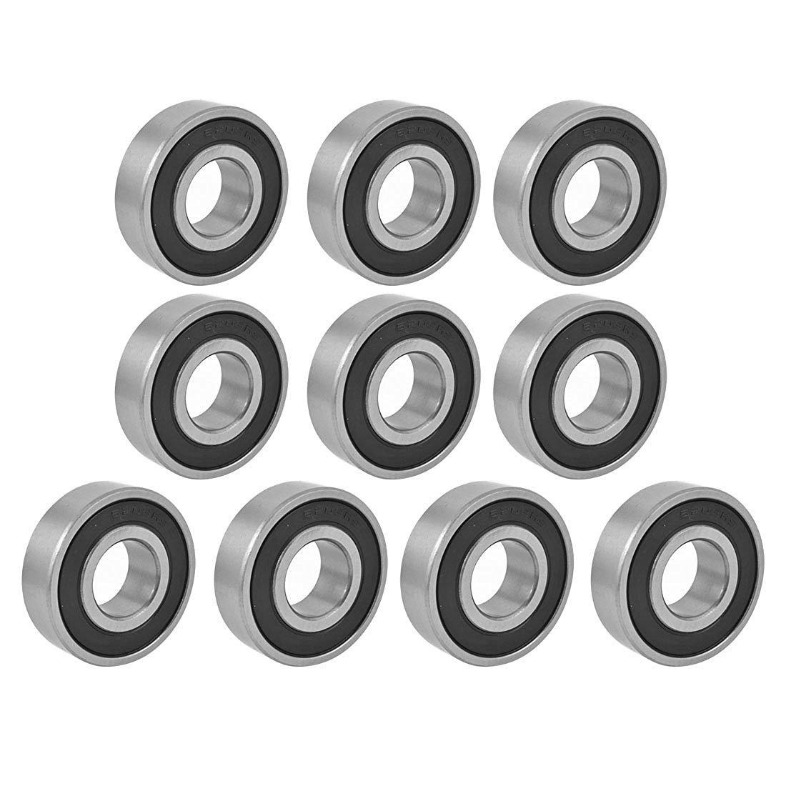 Ball Bearings - TOOGOO(R) 6203RS Shielded Deep Groove Radial Ball Bearings 17mmx40mmx12mm 10Pcs