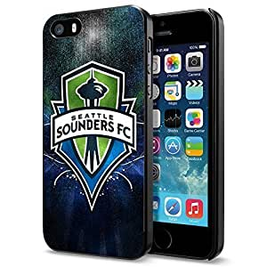 Soccer MLS Seattle Sounders FC , Cool iPhone 5 5s Smartphone Case Cover