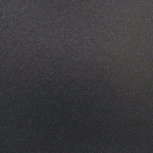 Best Creation 12-Inch by 12-Inch Glitter Cardstock, Black