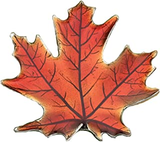 product image for Danforth - Maple Leaf/Autumn Brooch Pin - Pewter - 1 3/4 Inches - Handcrafted - Made in USA