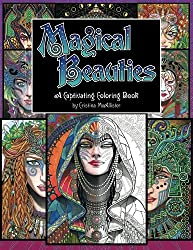 Magical Beauties A Captivating Coloring Book