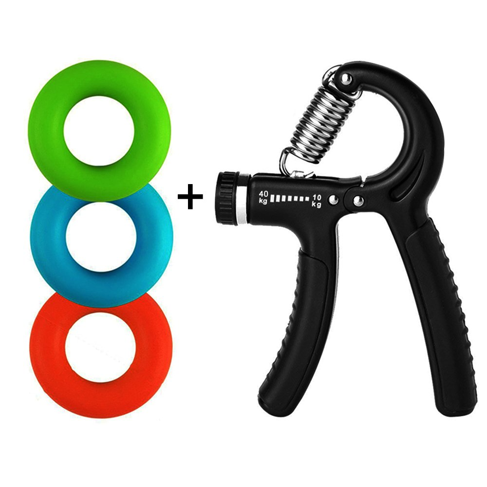 YSJ Hand Grip Strengthener Finger Exerciser Grip Strength Trainer for Hand Rehabilitation Exercising, Athletes, Pianists, Students, Mouse Hand