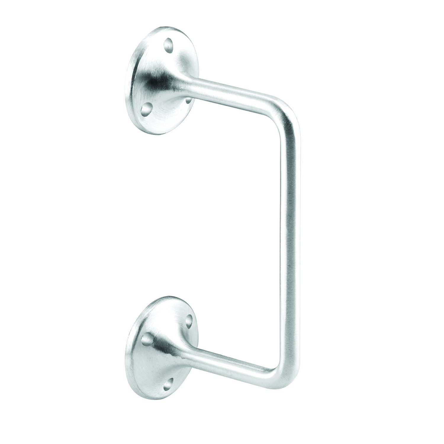 Sentry Supply 650-9867 High Rise Partition Door Pull 3 inch High Satin Cast Stainless Steel Pack of 1 ADA Complaint
