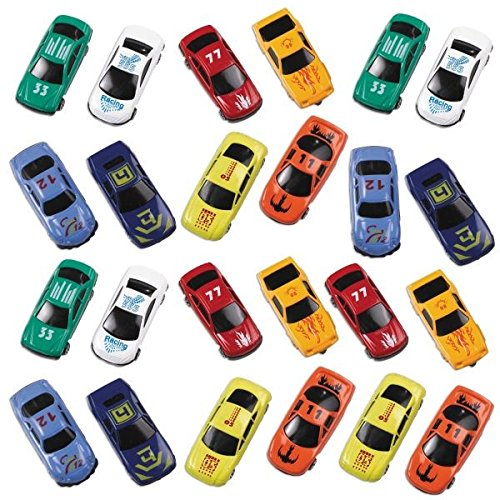 [Fun-Filled Die Cast Cars Party Mega Value Pack Favours, Metal, 2
