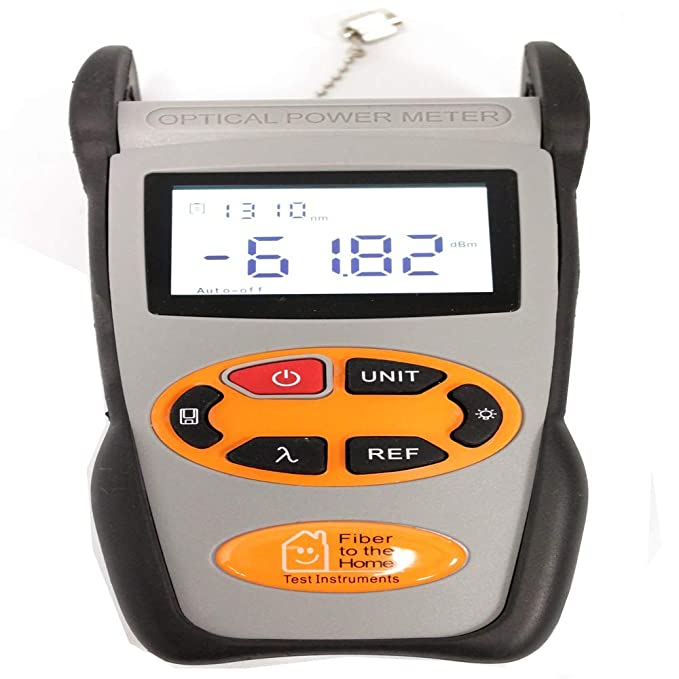 BeMatik - Medidor de Potencia óptica de -70 dBm a +3 dBm con Memoria: Amazon.es: Electrónica