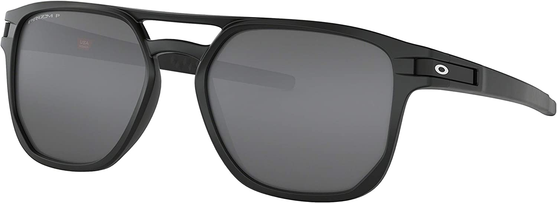 Dieci anni mossa metropolitana  Amazon.com : Oakley Latch Beta Sunglasses Matte Black with Prizm Black  Polarized Lens + Sticker : Clothing