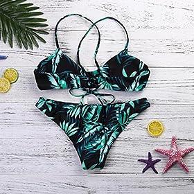 - 61Z1FPfqw1L - morecome Women Bikini Set Swimwear Swimsuit Beachwearr
